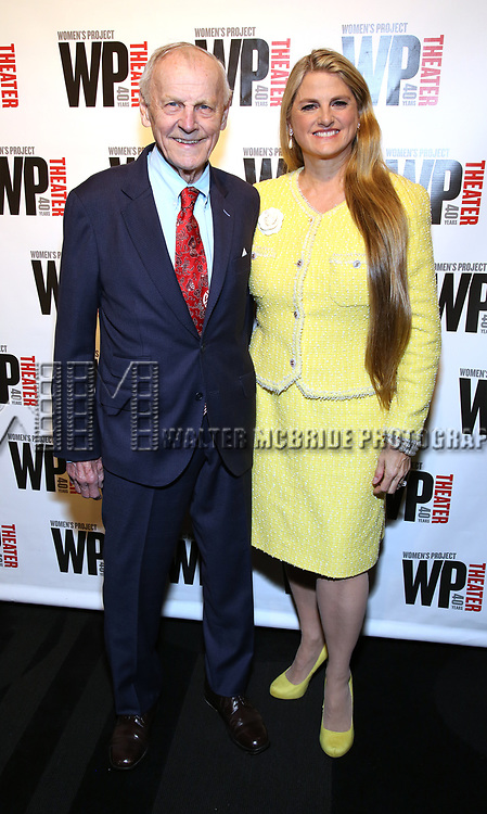 James F. Comley and Bonnie Comley attends the WP Theater's 40th Anniversary Gala -  Women of Achievement Awards at the Edison Hotel on April 15, 2019  in New York City.