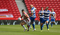 Stoke City's Lee Gregory <br /> <br /> Photographer Stephen White/CameraSport<br /> <br /> The EFL Sky Bet Championship - Stoke City v Queens Park Rangers - Saturday 3rd August 2019 - bet365 Stadium - Stoke-on-Trent<br /> <br /> World Copyright © 2019 CameraSport. All rights reserved. 43 Linden Ave. Countesthorpe. Leicester. England. LE8 5PG - Tel: +44 (0) 116 277 4147 - admin@camerasport.com - www.camerasport.com