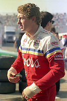 Bill Elliott injured hand Daytona 500 at Daytona International Speedway on February 19, 1989.  (Photo by Brian Cleary/www.bcpix.xom)