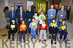 On Saturday IT Tralee Coder Dojo Awards were presented to the different categories and pictured here are the 8-12 category and included in picture are Dr Oliver Murphy (President IT Tralee), Sean ryan (CEO Aspen Solutions) and John Walsh (Dept of Computing ITT).