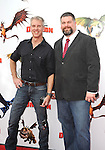UNIVERSAL CITY, CA. - March 21: Co-directors/writers Chris Sanders and Dean DeBlois arrive at the premiere of ''How To Train Your Dragon'' at Gibson Amphitheater on March 21, 2010 in Universal City, California.