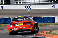 #23 Sam Smelt AmDTuning.com with Cobra Exhausts Audi S3 Saloon during BTCC Practice  as part of the Dunlop MSA British Touring Car Championship - Rockingham 2018 at Rockingham, Corby, Northamptonshire, United Kingdom. August 11 2018. World Copyright Peter Taylor/PSP. Copy of publication required for printed pictures.
