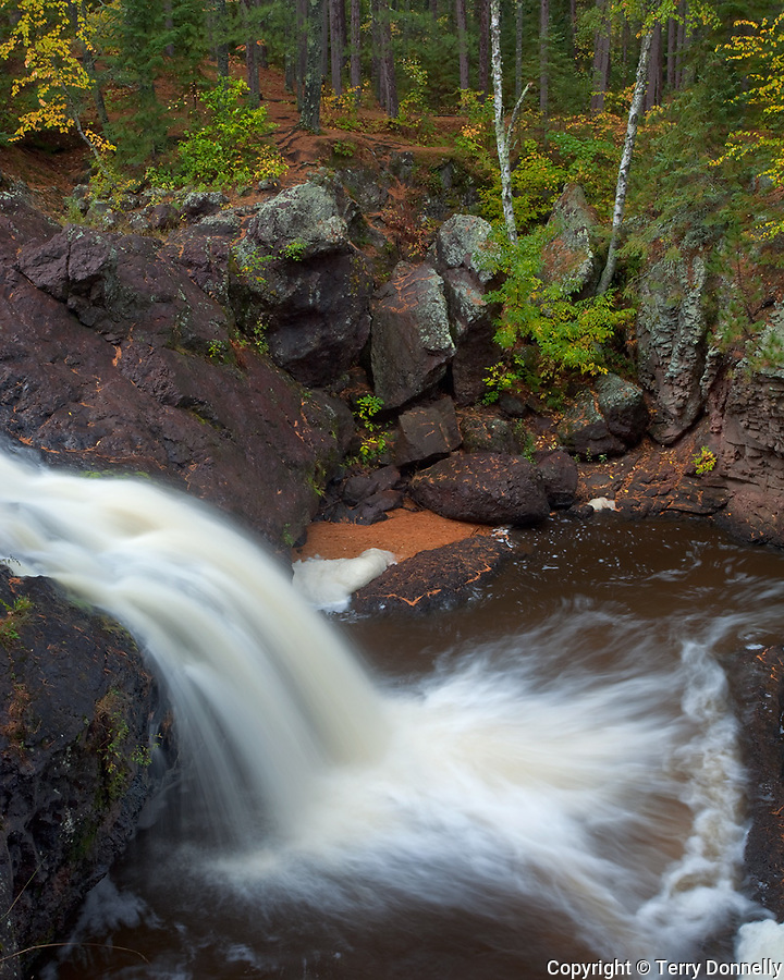 Amnicon Falls State Park, WI<br /> Waterfalls on the Amnicon River