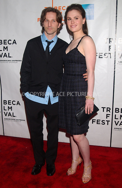WWW.ACEPIXS.COM . . . . .....April 27 2007, New York City....Breckin Meyer and Anna Paquin attended the premiere of ''Blue State' at the Tribeca Film Festival...  ....Please byline: Kristin Callahan - ACEPIXS.COM..... *** ***..Ace Pictures, Inc:  ..Philip Vaughan (646) 769 0430..e-mail: info@acepixs.com..web: http://www.acepixs.com