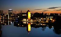 Nederland Zaandam 2019. De oude Verkade Fabriek aan de Zaan. Tegenwoordig zijn er in het pand diverse bedrijven, zoals Verskade gevestigd. Foto Berlinda van Dam / Hollandse Hoogte
