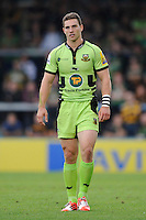 George North of Northampton Saints during the Premiership Rugby Round 2 match between Wasps and Northampton Saints at Adams Park on Sunday 14th September 2014 (Photo by Rob Munro)
