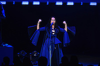 Philadelphia, PA - November 5, 2016: Singer/songwriter Katy Perry performs during a GOTV event for democratic presidential candidate Hillary Clinton at the Mann Center in Philadelphia, PA, November 5, 2016. (Photo by Don Baxter/Media Images International)