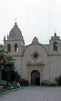 California Missions: Mission San Carlos, Carmel. 1793-1797.  Photo '86.