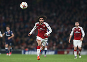 2nd November 2017, Emirates Stadium, London, England; UEFA Europa League group stage, Arsenal versus Red Star Belgrade; Mohamed Elneny of Arsenal in action