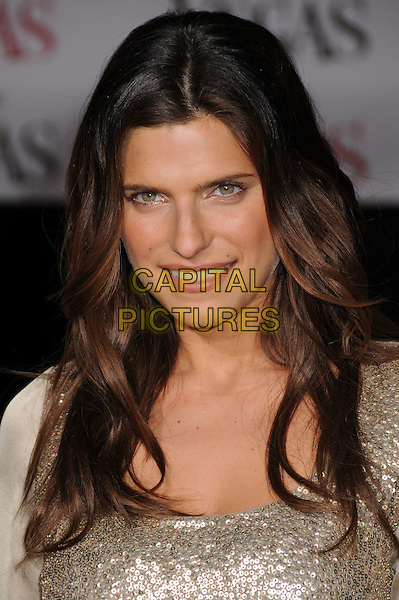 "LAKE BELL.""What Happens in Vegas"" Los Angeles Premiere at Mann's Village Theatre, Westwood, California, USA..May 1st, 2008.headshot portrait silver sequins sequined .CAP/ADM/BP.©Byron Purvis/AdMedia/Capital Pictures."