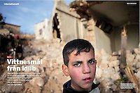 FOKUS (Swedish political magazine):<br /> Syria, Idlib province -<br /> Uprising against Assad, 03.2012<br /> Photos:  Timo Vogt