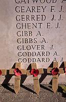 Gedenkstaette Menenpoort an den 1. Weltkrieg in Ypern (Ieper), Flandern, Belgien