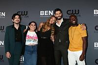 LOS ANGELES - AUG 4:  Morgan Krantz, Brooke Markham, Perry Mattfeld, Casey Diedrick, Keston John at the  CW Summer TCA All-Star Party at the Beverly Hilton Hotel on August 4, 2019 in Beverly Hills, CA