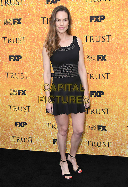 11 May 2018 -North Hollywood, California - Hilary Swank. FYC Event for FX's &quot;Trust&quot; held at Saban Media Center at the Television Academy Wolf Theater. <br /> CAP/ADM/BT<br /> &copy;BT/ADM/Capital Pictures