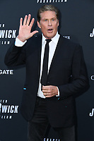 "15 May 2019 - Hollywood, California - David Hasseloff. ""John Wick: Chapter 3 - Parabellum"" Special Screening Los Angeles held at the TCL Chinese Theatre. Photo Credit: Birdie Thompson/AdMedia"