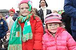 Yvonne Grogan Andrea Grogan St Patricks Day parade in Slane..Picture: Fran Caffrey / www.newsfile.ie ..