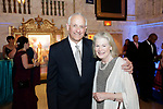 Waterbury, CT- 28 April 2017-042817CM12-  From left Ron Pugliese, chairman of the Waterbury Palace Theater board of directors and his wife Janice are photographed during the 10th annual Jane Doe No More gala and awards ceremony at the Palace Theater in Waterbury.   Christopher Massa Republican-American