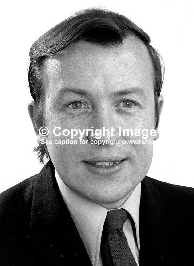 Brian Garrett, solicitor, chairman, N Ireland Labour Party, 197305020245.<br />