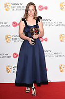 Molly Windsor in the winners room for the BAFTA TV Awards 2018 at the Royal Festival Hall, London, UK. <br /> 13 May  2018<br /> Picture: Steve Vas/Featureflash/SilverHub 0208 004 5359 sales@silverhubmedia.com