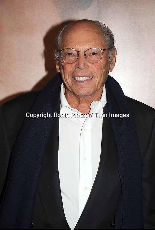 """director Irwin Winkler arrives to The World Premiere of """" The Five-Year Engagement"""" at the opening night of The Tribeca Film Festival at the Ziegfeld Theatre in New York City on ..April 18, 2012."""