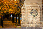 Oct. 25, 2009; Campus entrance at Angela & Notre Dame Avenue..Photo by Matt Cashore/University of Notre Dame