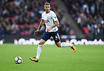 Toby Alderweireld of Tottenham Hotspur during the premier league match at the Wembley Stadium, London. Picture date 16th September 2017. Picture credit should read: Robin Parker/Sportimage