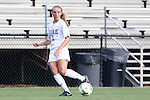 14 August 2014: Duke's Schuyler DeBree. The Duke University Blue Devils hosted the University of South Carolina Gamecocks at Koskinen Stadium in Durham, NC in a 2014 NCAA Division I Women's Soccer preseason match. Duke won the exhibition 2-0.