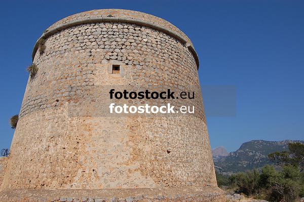 Watchtower &quot;Torre Picada&quot; (1614-1623) over the west coast of Mallorca near Puerto de S&oacute;ller<br /> <br /> Torre Picada (1614-1623), torre de defensa sobre la costa oeste de Mallorca cerca de Puerto de S&oacute;ller<br /> <br /> Wachturm &quot;Torre Picada (1614-1623) &uuml;ber der Westk&uuml;ste Mallorcas in der N&auml;he von Puerto de S&oacute;ller<br /> <br /> 3008 x 2000 px<br /> 150 dpi: 50,94 x 33,87 cm<br /> 300 dpi: 25,47 x 16,93 cm