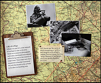 BNPS.co.uk (01202 558833)<br /> Pic: PhilYeomans/BNPS<br /> <br /> The process of making and updating the highly accurate maps is displayed on a wall at Hughenden - aerial photographs were being taken constantly to reflect previous damage and new targets such as U-Boat pens, troop build ups and V1 rocket sites.<br /> <br /> Secret rooms at a stately home where brilliant map-makers played a pivotal role in helping Britain to win the war have been opened to the public for the first time.<br /> <br /> Hughenden Manor, in Bucks, once home to the Victorian prime minster Benjamin Disraeli, was requisitioned by the Air Ministry in 1941 and given the codename 'Hillside'.<br /> <br /> In its confines, more than 3,500 hand drawn maps were produced for the RAF bombing campaigns, including the legendary Dambusters Raid and a raid on the Berchtesgaden, Hitler's famous mountain retreat.<br /> <br /> Previously hidden away under lock and key, these rooms have been opened for the first time for a permanent display featuring photographs, records and testimonies from some of the 100 men and women who were based there in World War Two.<br /> <br /> Since they were sworn to silence under the Official Secrets Act, Hillside's crucial wartime role in fact remained unknown until 2004, when a volunteer room guide overheard Victor Gregory, a visitor to the National Trust property, tell his grandson that he was stationed there during the war.