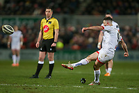 Friday 3rd January 2020 | Ulster Rugby vs Munster Rugby<br /> <br /> John Cooney converts during the PRO14 Round 10 inter-pro clash between Ulster and Munster at Kingspan Stadium, Ravenhill Park, Belfast, Northern Ireland.  Photo by John Dickson / DICKSONDIGITAL