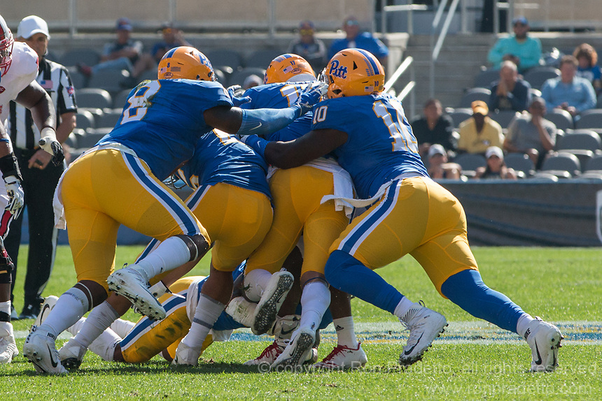 The North Carolina Wolfpack defeated the Pitt Panthers 35-17 at Heinz Field, Pittsburgh, PA on October 14, 2017.