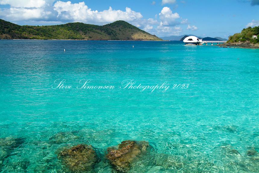 Coki Beach and Coral World<br /> St. Thomas<br /> U.S. Virgin Islands