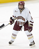 Nathan Gerbe - The Boston College Eagles defeated Northeastern University Huskies 5-3 on Saturday, November 19, 2005, at Kelley Rink in Conte Forum at Chestnut Hill, MA.