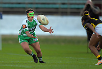 Janna Vaughan in action during the Farah Palmer Cup women's rugby match between Manawatu Cyclones and Wellington Pride at CET Stadium in Palmerston North, New Zealand on Saturday, 12 October 2019. Photo: Dave Lintott / lintottphoto.co.nz