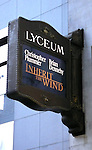 Tony Award winners Christopher Plummer and Brian Dennehy will co-star in a limited engagement of Jerome Lawrence and Robert E. Lee's 1955 courtroom drama Inherit the Wind..( Theatre Marquee ).Lyceum Theatre in New York City..March 9, 2007.© Walter McBride /  .