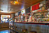 Soda fountain at the Fort Davis drug store and hotel. A must stop by on your travels in the area.