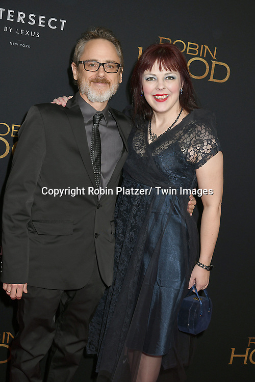 "screenwriter David James Kelly attends the New York Special Screening of ""Robin Hood"" on November 11, 2018 at AMC Lincoln Square in New York, New York, USA.<br /> <br /> photo by Robin Platzer/Twin Images<br />  <br /> phone number 212-935-0770"