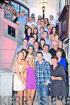 Jeremiah Buckley, Clasheen, Killarney and Clare Wright, Clasheen, Killarney pictured with their families and friends as they celebrated their engagement in the Plaza Hotel, Killarney on Friday night.