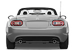 Straight rear view of a 2010 Mazda Miata MX5