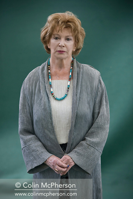 Legendary Irish novelist and short story writer Edna O'Brien, pictured at the Edinburgh International Book Festival where she talked about her acclaimed career in literature. The three-week event is the world's biggest literary festival and is held during the annual Edinburgh Festival. The 2011 event featured talks and presentations by more than 500 authors from around the world..