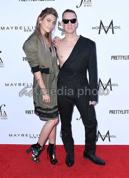 08 April 2018 - Beverly Hills, California - Paris Jackson, Jeremy Scott. The Daily Front Row's 4th Annual Fashion Los Angeles Awards held at The Beverly Hills Hotel. Photo Credit: Birdie Thompson/AdMedia
