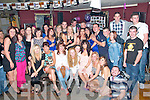 21st Birthday Party : Sabrine Culhane, Moyvane, fourth from right front, celebrating her 21st birthday with family & friends at the Star & Garter Bar, Listowel on Saturday night last.