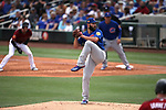 Chicago Cubs' Jake Arrieta pitches in a spring training game against the Arizona Diamondbacks in Phoenix, AZ, on Thursday, March 23, 2017.<br /> Photo by Cathleen Allison/Nevada Photo Source