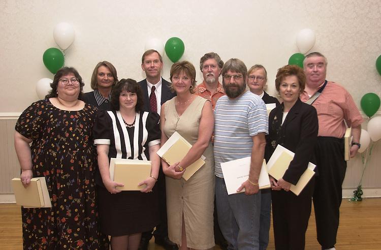 15912    Outstanding Administrators Awards Ceremony 2003: Linda Lonsinger/Marvin Bowman/Sandra Foster