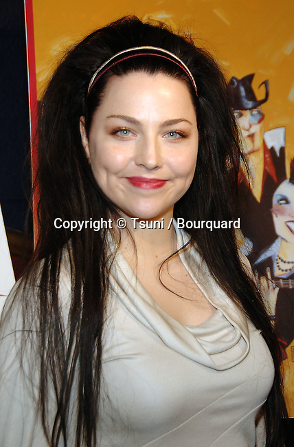 Amy Lee  at the 49th GRAMMYs Nominations at the Music Box @ The Fonda Theatre In Los Angeles.<br /> <br /> headshot<br /> eye contact