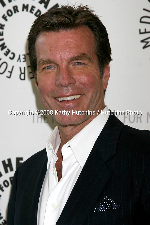 Peter Bergman.Young and the Restless Celebrates 35 Years.Paley Center for Media.Beverly Hills, CA.April 10, 2008.©2008 Kathy Hutchins / Hutchins Photo....