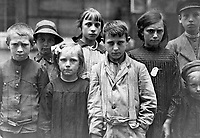 Refugee children at Grand Val, near Paris, France, where a home has been established for them by the A.R.C.  Ca. 1918-19.   American Red Cross. (War Dept.)<br /> Exact Date Shot Unknown<br /> NARA FILE #:  165-WW-179C-2<br /> WAR & CONFLICT BOOK #:  678