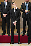 Jesús Tortosa Cabrera attends to the National Sports Awards 2015 at El Pardo Palace in Madrid, Spain. January 23, 2017. (ALTERPHOTOS/BorjaB.Hojas)