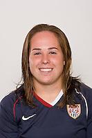 Alexa Gaul. U-17 USA Women's National Team head shots on September 16, 2008. Photo by Howard C. Smith/isiphotos.com