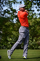 Sergio Garcia (ESP) watches his tee shot on 10 during round 2 of the World Golf Championships, Dell Technologies Match Play, Austin Country Club, Austin, Texas, USA. 3/23/2017.<br /> Picture: Golffile | Ken Murray<br /> <br /> <br /> All photo usage must carry mandatory copyright credit (&copy; Golffile | Ken Murray)